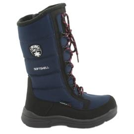 Sne støvler med American Club SN12 membran marineblå