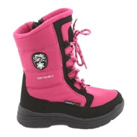 American Club Sne støvler med amerikansk klub SN13 lyserød / sort membran
