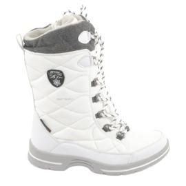Sne støvler med en membran American Club SN08 hvid