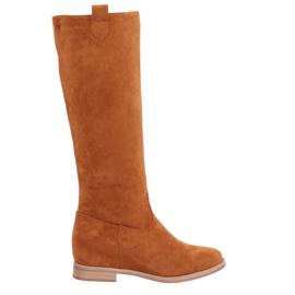 Støvler på en skjult kilekamel NC968P Camel brun