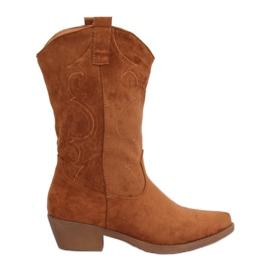 Dame-cowboy-kamel NC972 Camel brun