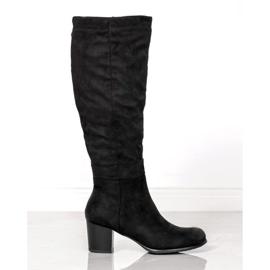 Klassiske VINCEZA-støvler sort
