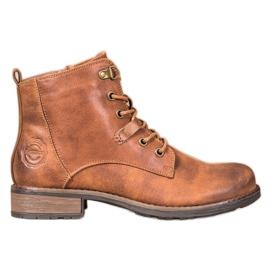 Goodin Elegante Eco Leather Trappers brun
