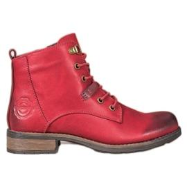 Goodin Elegante Eco Leather Trappers rød