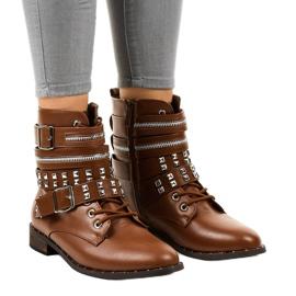 Brun stilfulde støvler 688-29