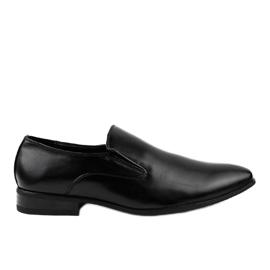 Sort elegante loafers 6-317