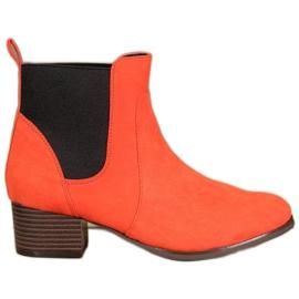 Kylie Klassiske Jodhpur støvler appelsin