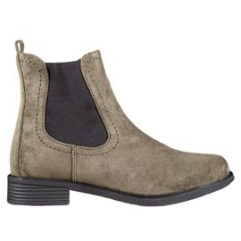 Ideal Shoes Casual Jodhpur støvler grøn