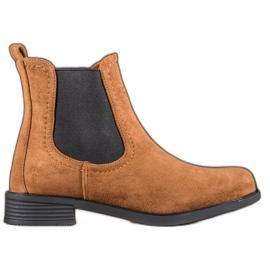Ideal Shoes Casual Jodhpur støvler brun