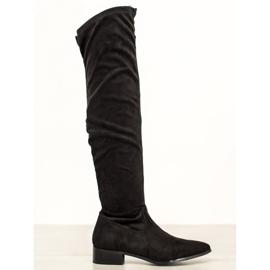 Seastar Afslappet støvler over knæet sort