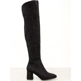 Seastar Elegante høje støvler sort