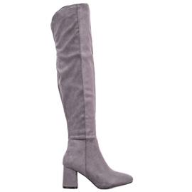 Seastar Elegante høje støvler grå