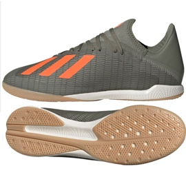Adidas X 19.3 i M EF8367 indesko grå / sølv grå
