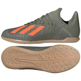 Adidas X 19.3 I Jr EF8376 indesko grå / sølv grå