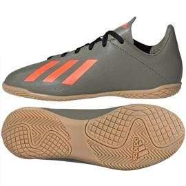 Adidas X 19.4 I Jr EF8379 fodboldstøvler grå