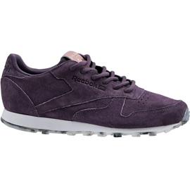 Reebok Classic Leather Shimmer W BD1520 sko lilla
