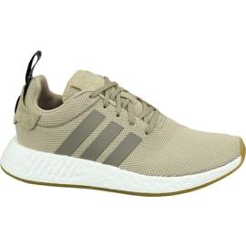 Adidas NMD R2 M BY9916 sko brun