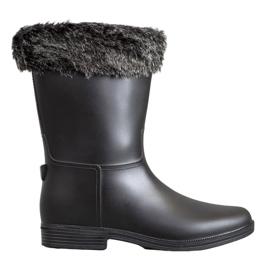 SHELOVET Wellingtons With Fur sort