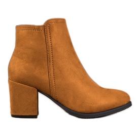 Clowse Klassiske kamelstøvler brun