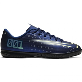 Nike Mercurial Vapor 13 Academy Mds Ic Jr CJ1175 401 fodboldsko navy navy