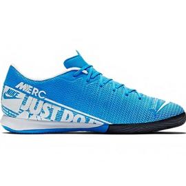 Nike Mercurial Vapor 13 Academy M Ic AT7993 414 fodboldsko blå blå