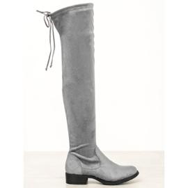 Seastar Afslappet lårhøj støvler grå
