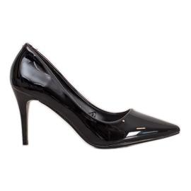Kylie Klassiske pumper med Eco-læder sort