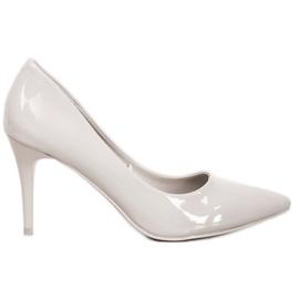 Kylie Klassiske pumper med Eco-læder grå