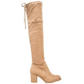 J. Star Slip-on høje støvler brun