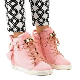Lyserøde kilsneakers KLS-103-10 pink