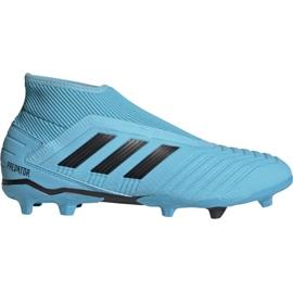 Adidas Predator 19.3 Ll Fg M G27923 fodboldsko sort, blå blå