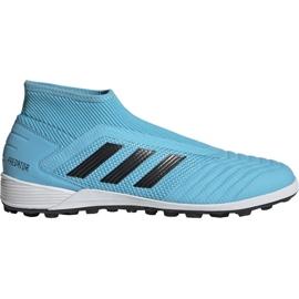 Adidas Predator 19.3 Ll Tf M EF0389 fodboldsko blå sort, blå