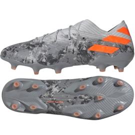Adidas Nemeziz 19.1 Fg M EF8281 fodboldsko grå