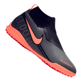 Nike Phantom Vsn Academy Df Tf Jr AO3292-080 fodboldsko sort