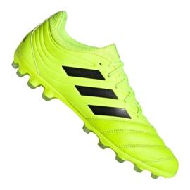 Adidas Copa 19.3 Ag Ig M EE8152 fodboldsko gul gul