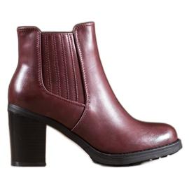 Comer Læder støvler rød