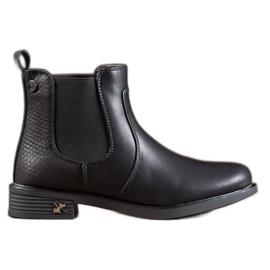 SHELOVET Jodhpur-støvler med Eco-læder sort