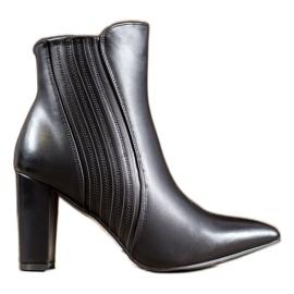SHELOVET Sexede sorte støvler