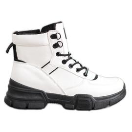 SHELOVET Støvler på modeplatformen hvid