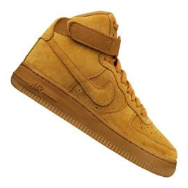 Nike Jr Air Force 1 High Lv 8 Gs Jr 807617-701 sko gul
