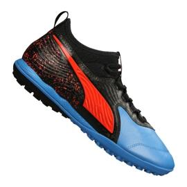 Puma One 19.3 Lth Tt Tr M 105489-01 fodboldstøvler sort