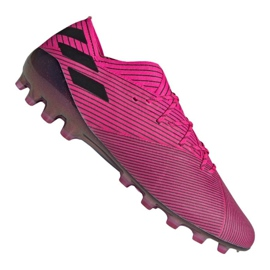 Adidas Nemeziz 19.1 Ag Fg M FU7033 fodboldsko pink pink