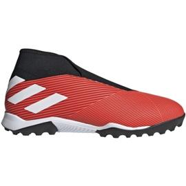 Adidas Nemeziz 19.3 Ll Tf M G54686 fodboldsko sort, rød rød