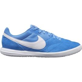 Nike Premier Ii Sala Ic M AV3153 414 fodboldsko hvid, blå blå