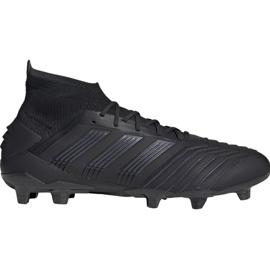 Fodboldstøvler adidas Predator 19.1 Fg M sort sort