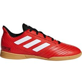Adidas Predator Tango 18.4 Sala Jr DB2343 fodboldsko rød