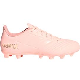 Adidas Predator 18.4 M FxG DB2008 fodboldsko pink pink