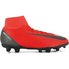 Nike Mercurial Superfly 6 Club CR7 Mg M AJ3545 600 fodboldsko rød