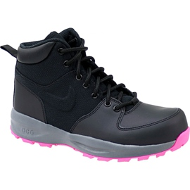 Nike Manoa Lth Gs W 859412-006 sko sort