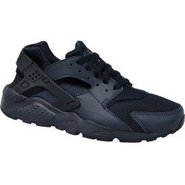 Nike Huarache Run Gs W 654275-403 sko sort